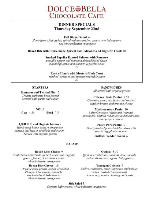 evening-menu-2016-9-22-rack-of-lamb-salmon-with-romesco-sauce